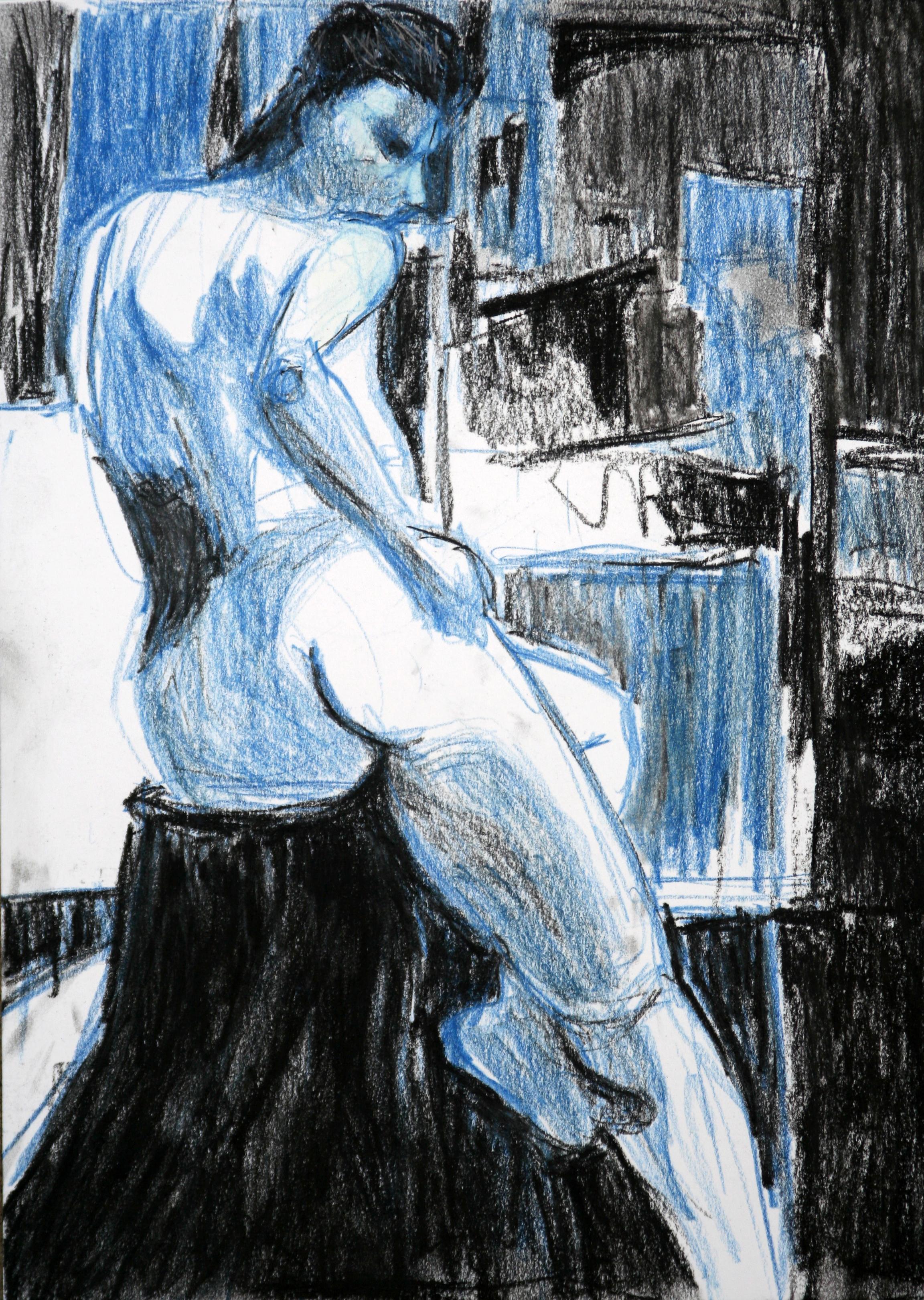Blue Attitude - SOLD