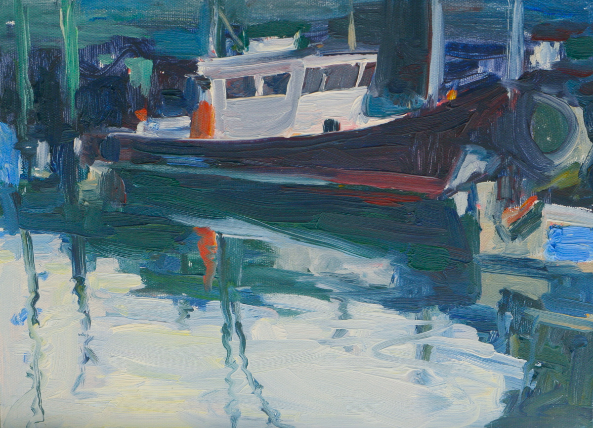 -Docked in Portsmouth-